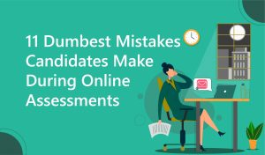 mistakes in online assessments